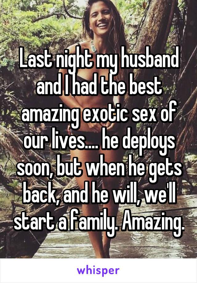 Best exotic sex