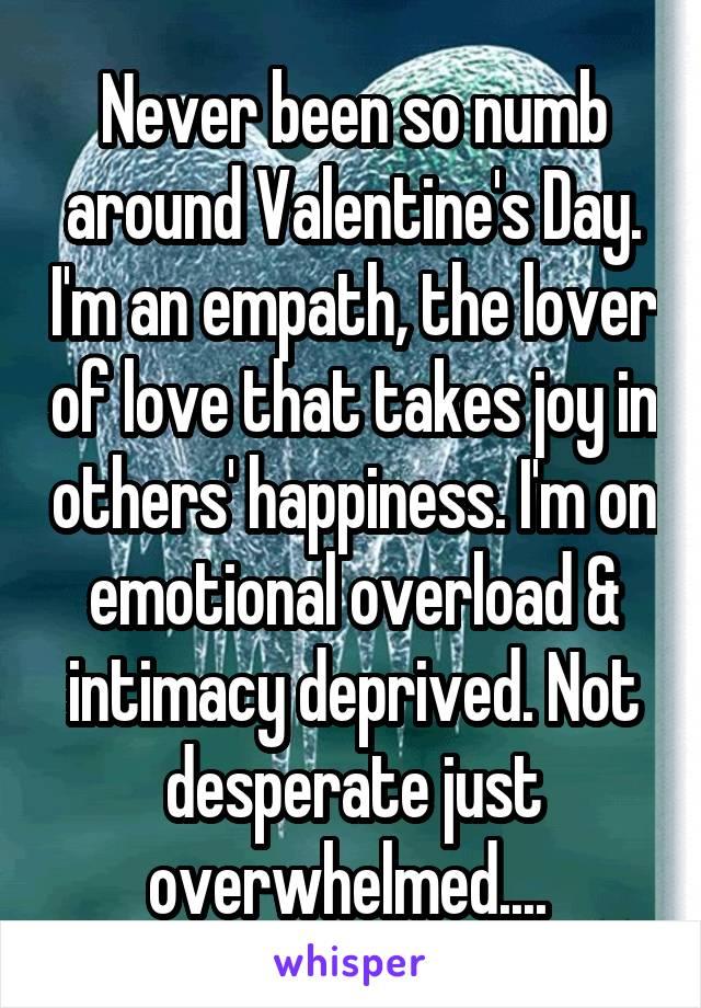 Empath emotional overload