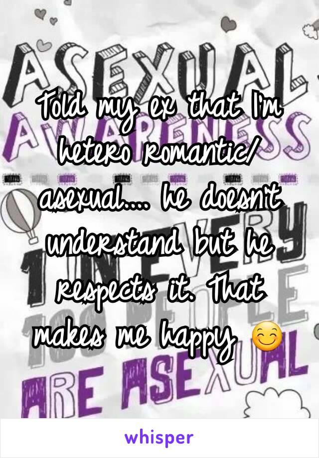heteroromantic asexual dating