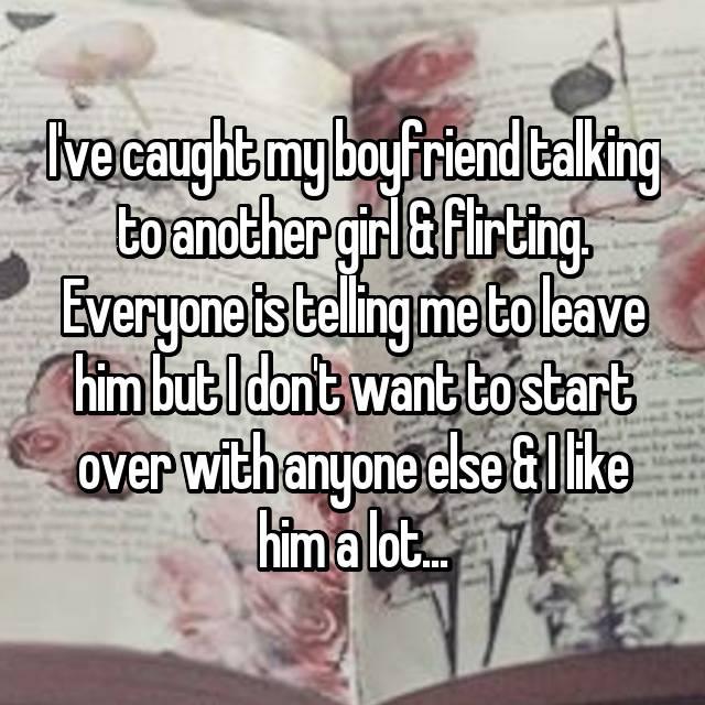 Flirting partner