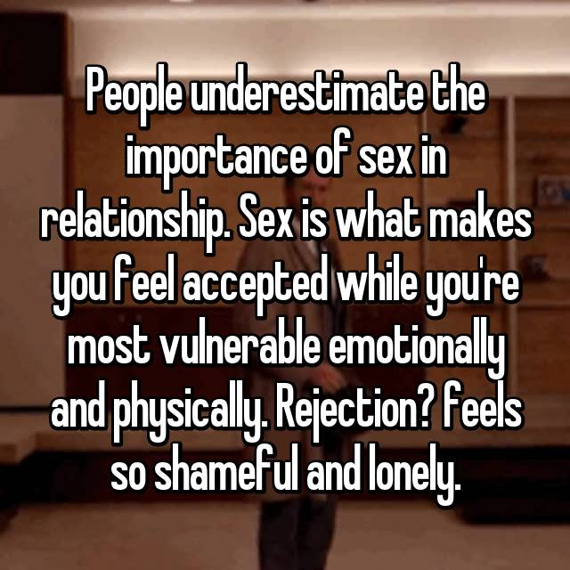 what is sex in a relationship