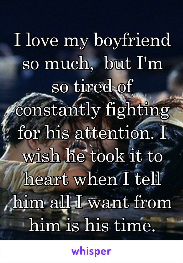My Boyfriend And I Fight Constantly