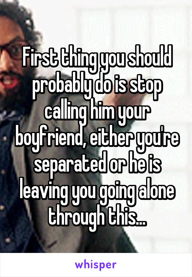 How to stop your boyfriend from leaving you