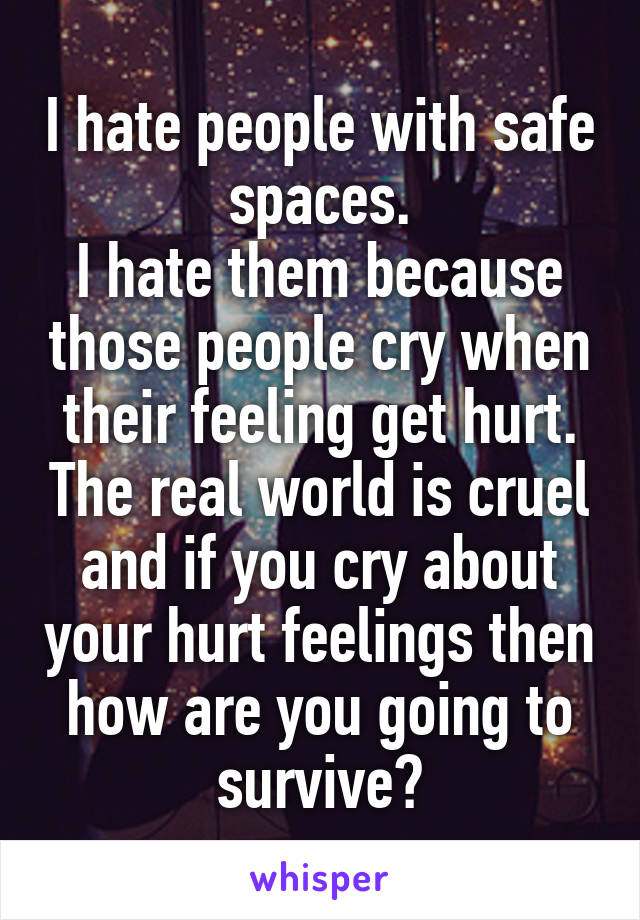 why do people cry when they get hurt
