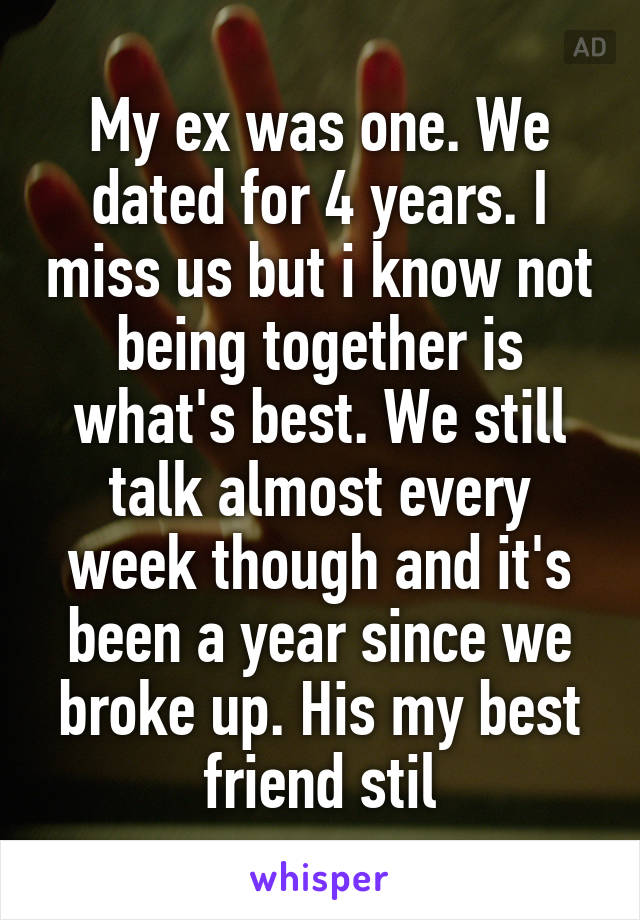 I still miss my ex after 4 years | After almost 4 years I