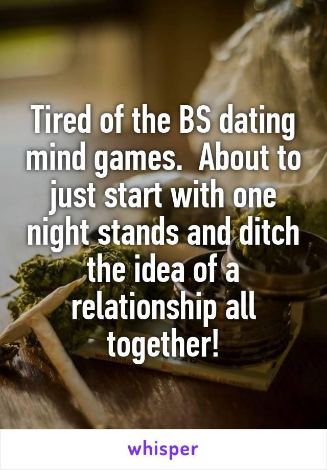 Mind games dating