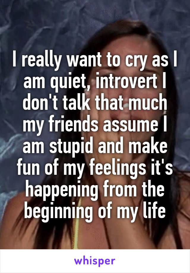 why do i cry when i talk about my feelings
