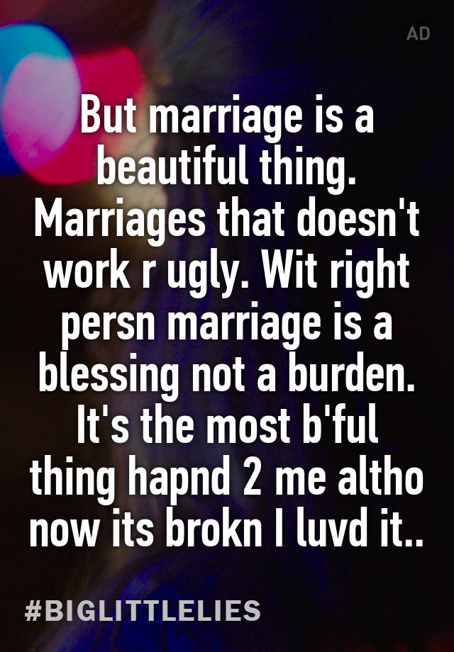 Marriage: Blessing or Burden?