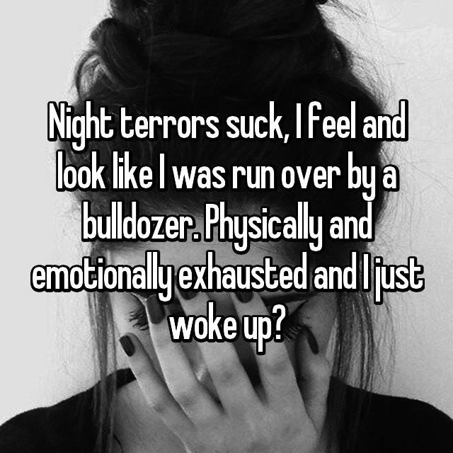 Nude adult night terrors sex