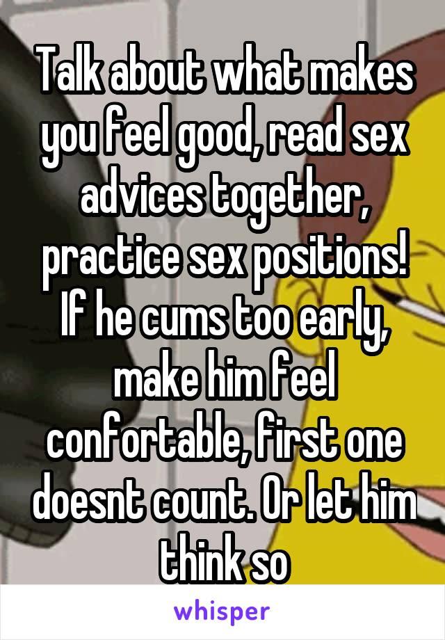how to make sex feel better for him