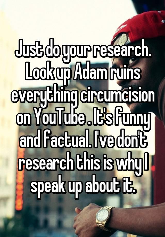 Adam ruins everything circumcision