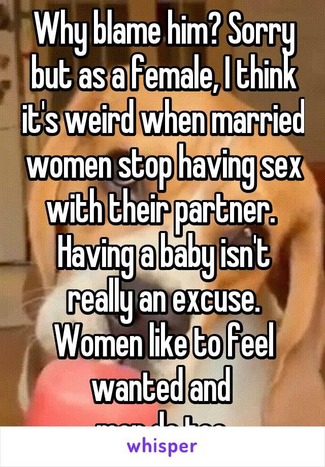 Why women stop having sex