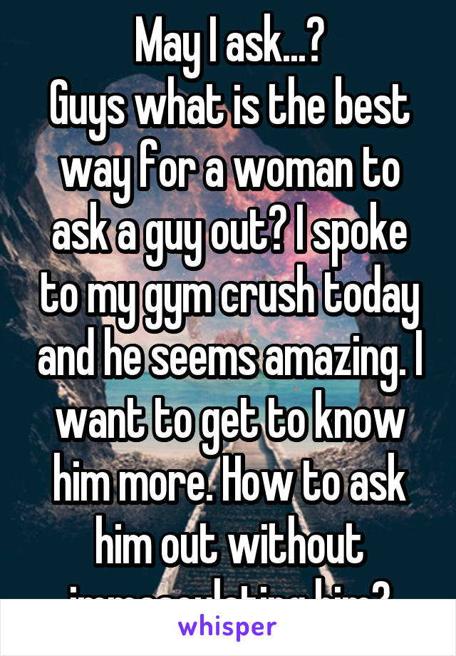 Ways to ask him out