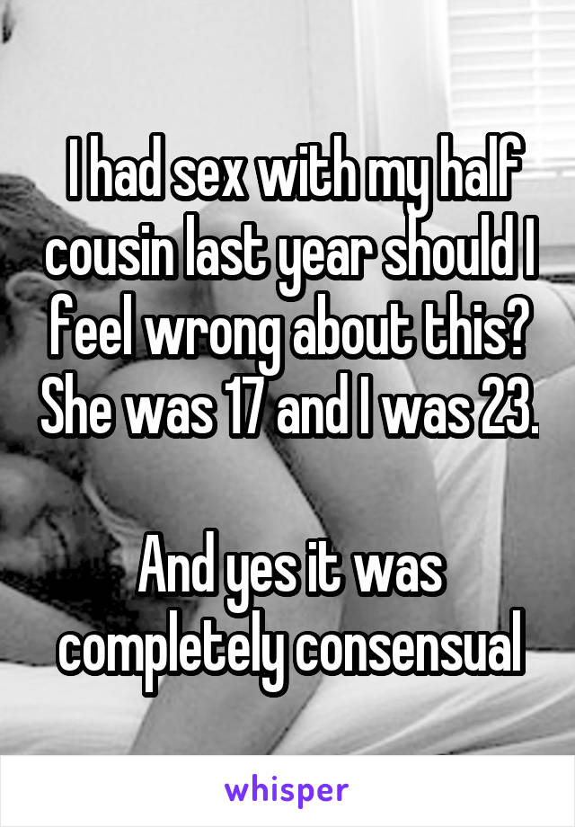 cousin sex half