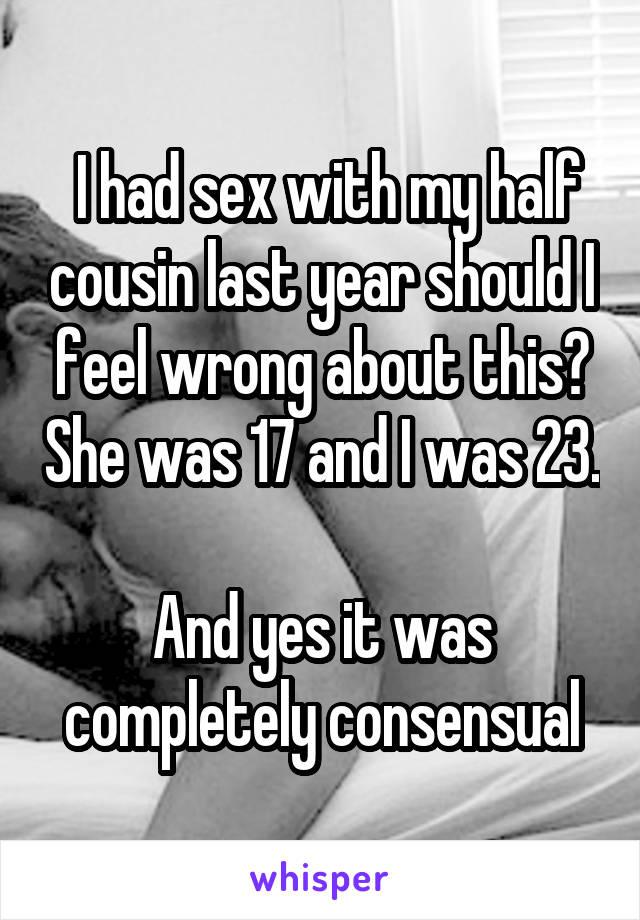 cousin sex half