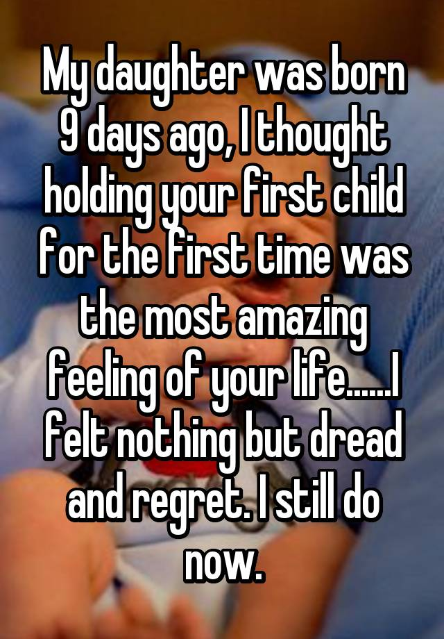 the day my daughter was born Read this essay on the birth of my child that day my mom had went with my sister to and my outlook on life the birth of my daughter.