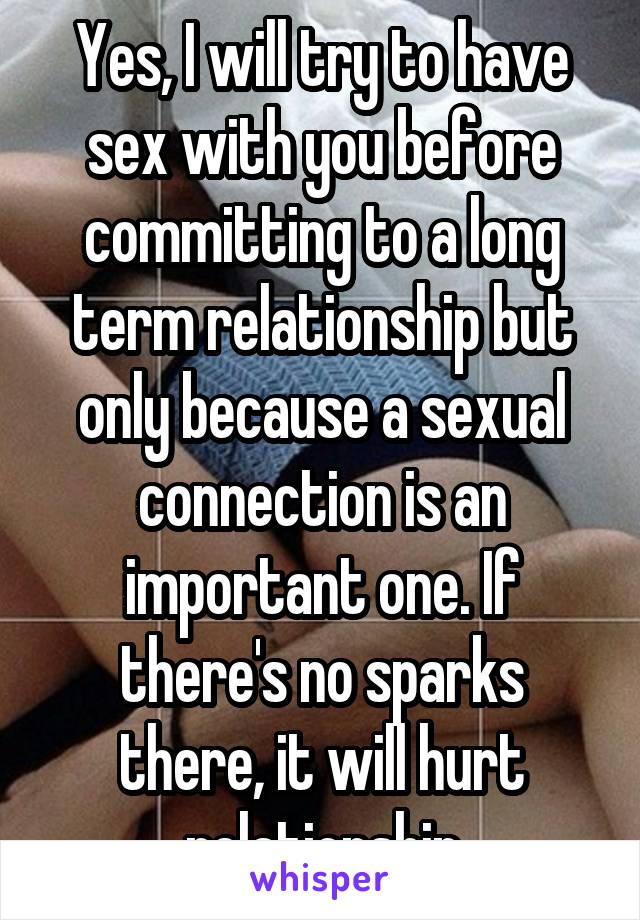How important is sex for a man in a relationship
