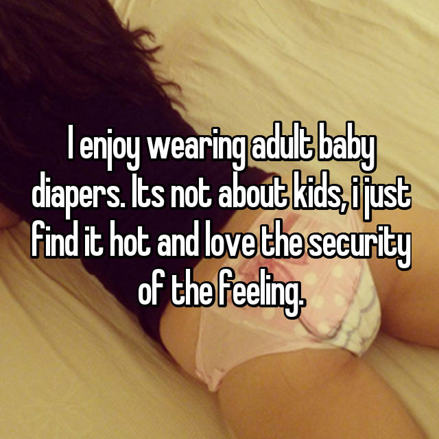 Acult diaper fetish