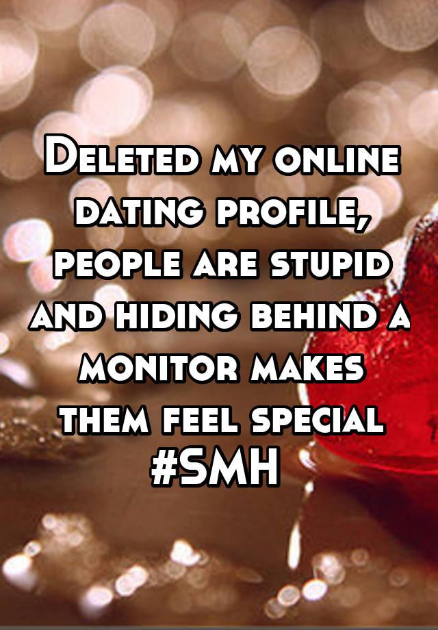 Stupid online dating profiles