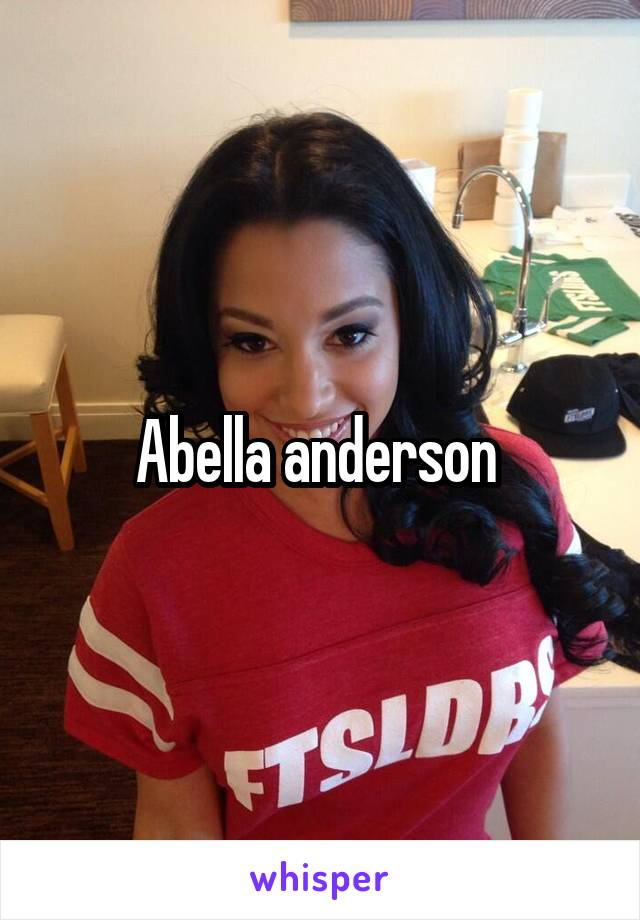 Abella Anderson From Hastings Nebraska Us