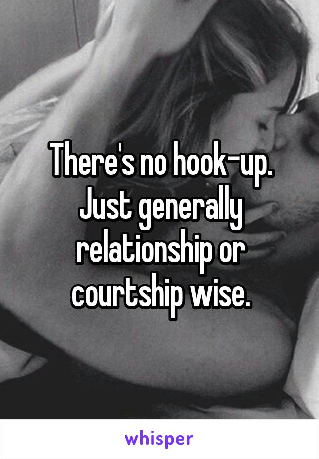 Main purpose of courtship to hookup