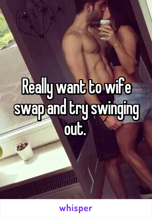 Want to try swinging