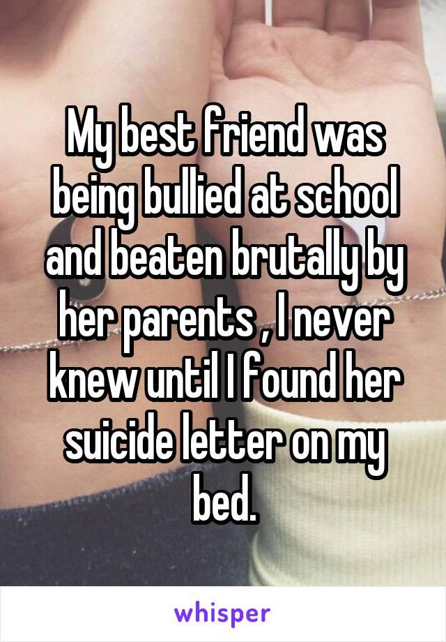 my best friend at school