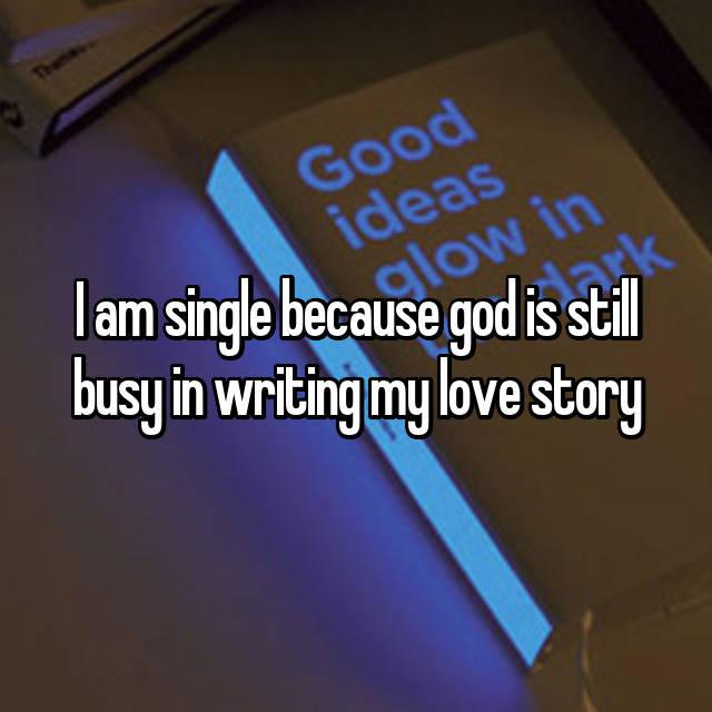 God writing my love story