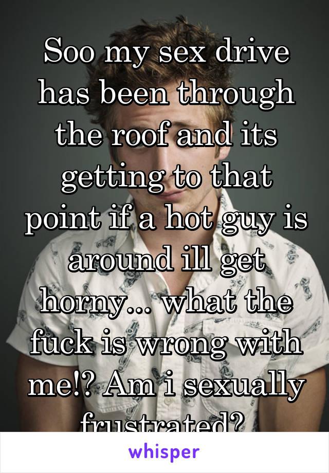 Sexual frustration vs horny