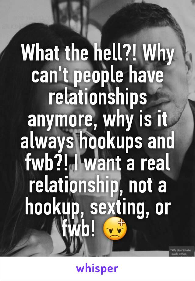 When is it a relationship and not hookup