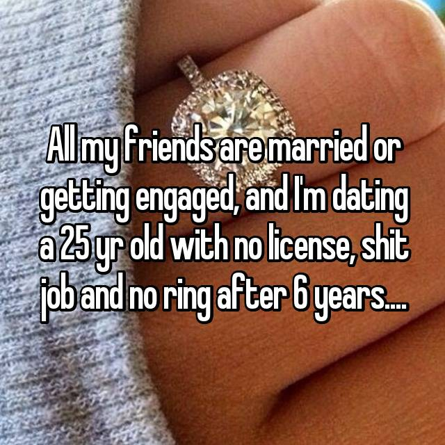 6 years of dating no ring