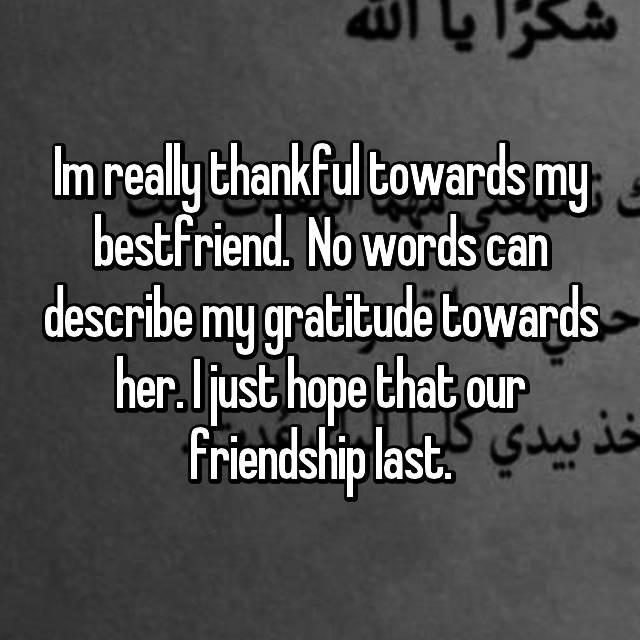 words that describe my best friend