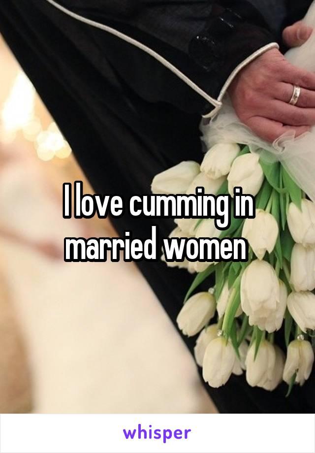 Cumming In A Married Woman