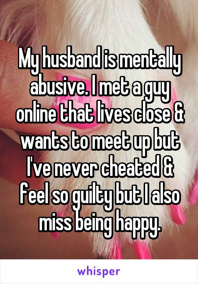 met a guy online and he wants to meet