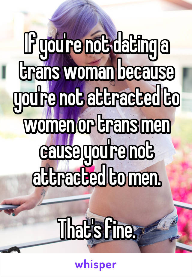 dating a girl youre not attracted to