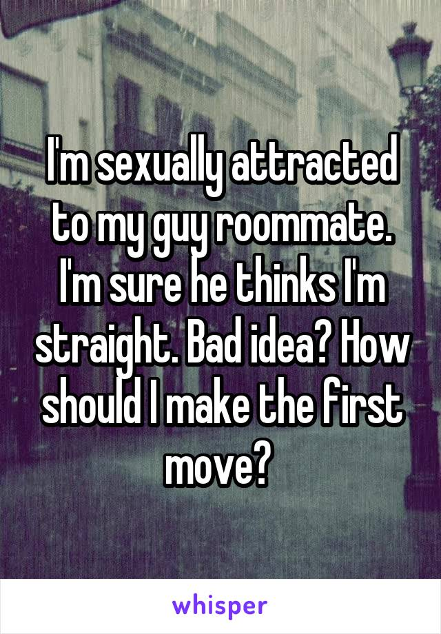How to make the first move on a guy sexually