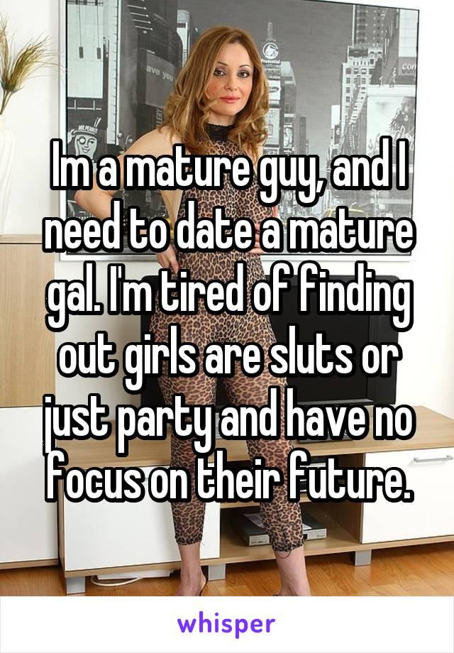 Date a mature