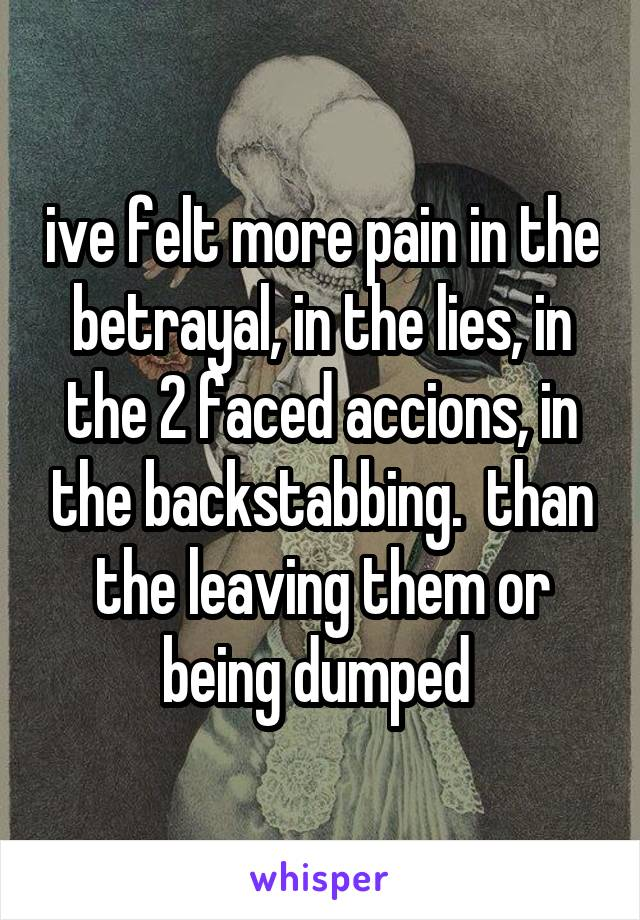 Of dumped pain being 5 Ways