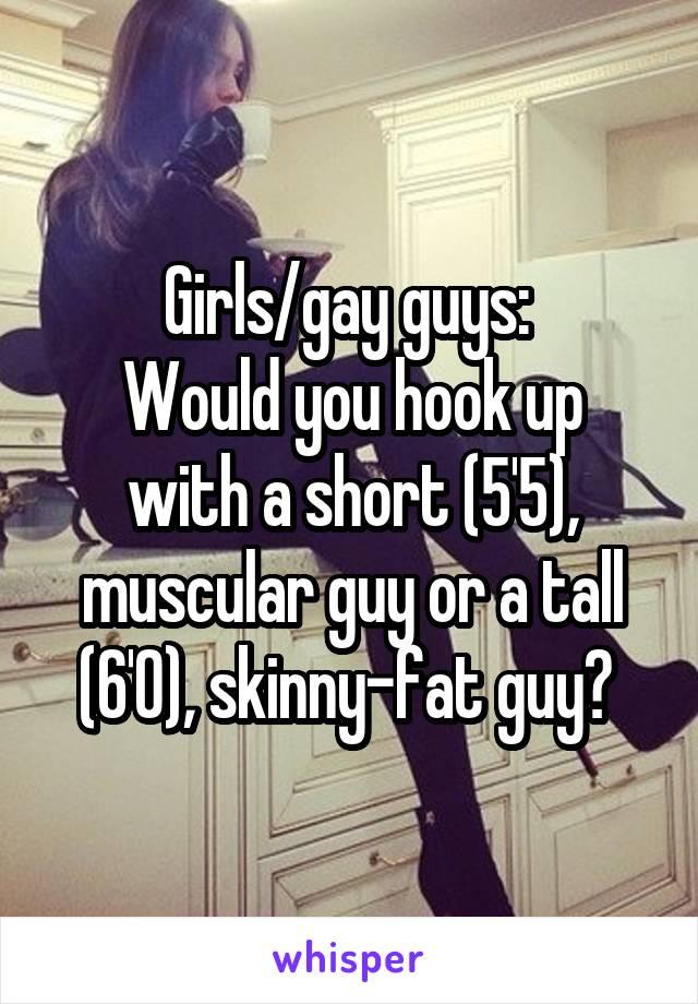 Hookup a tall gay guy