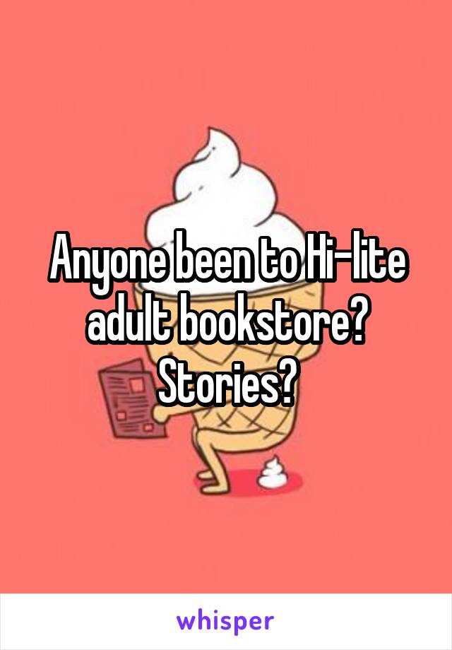 Wife adult bookstore stories