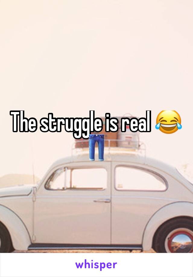The struggle is real 😂 👖
