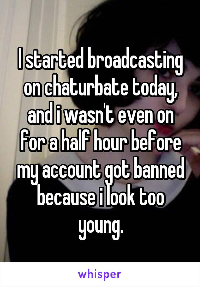 Broadcasting on chaturbate
