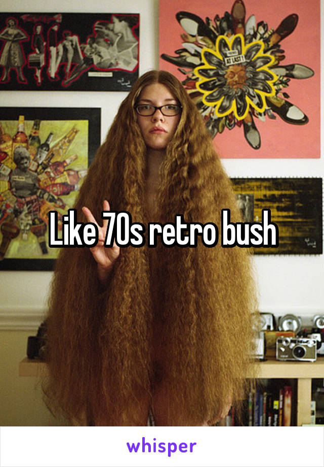 Kaleb recommend best of 70s bush hairy porn