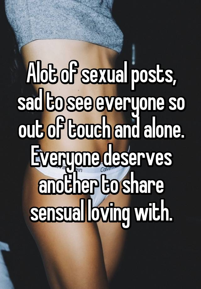 Sexual posts