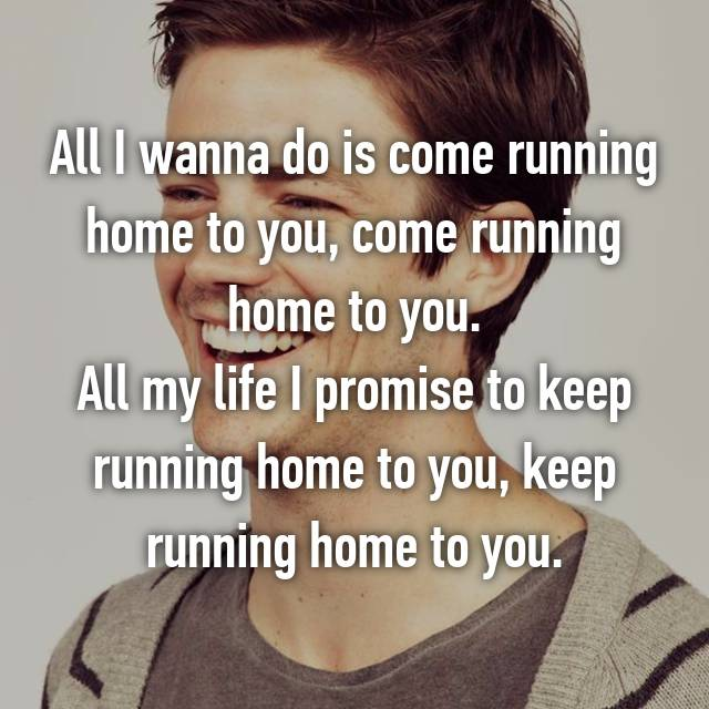 Is All i want come do home you to to