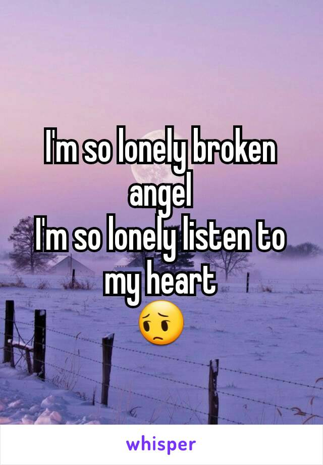 I am so lonely english song download.