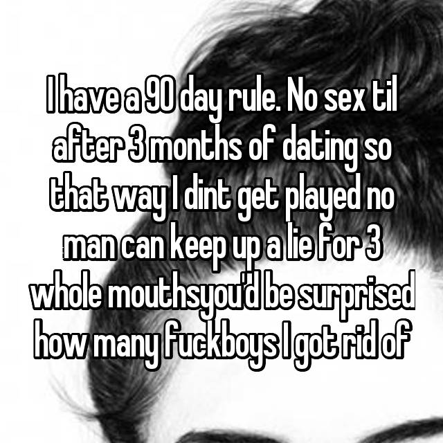 90 day dating rule
