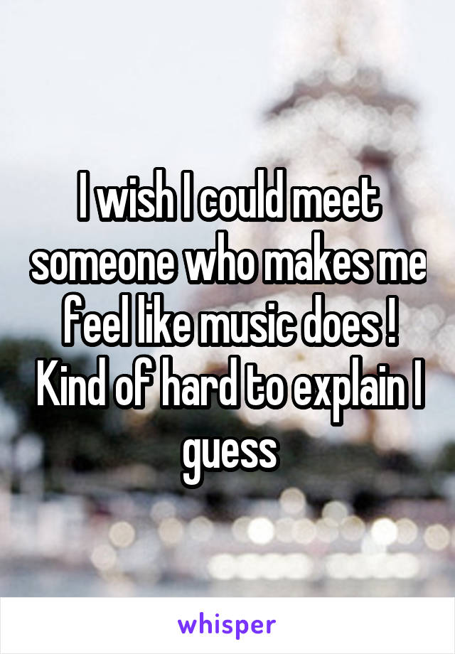 Finding it hard to meet someone