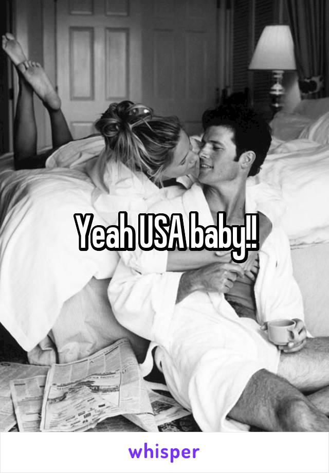 Yeah USA baby!!