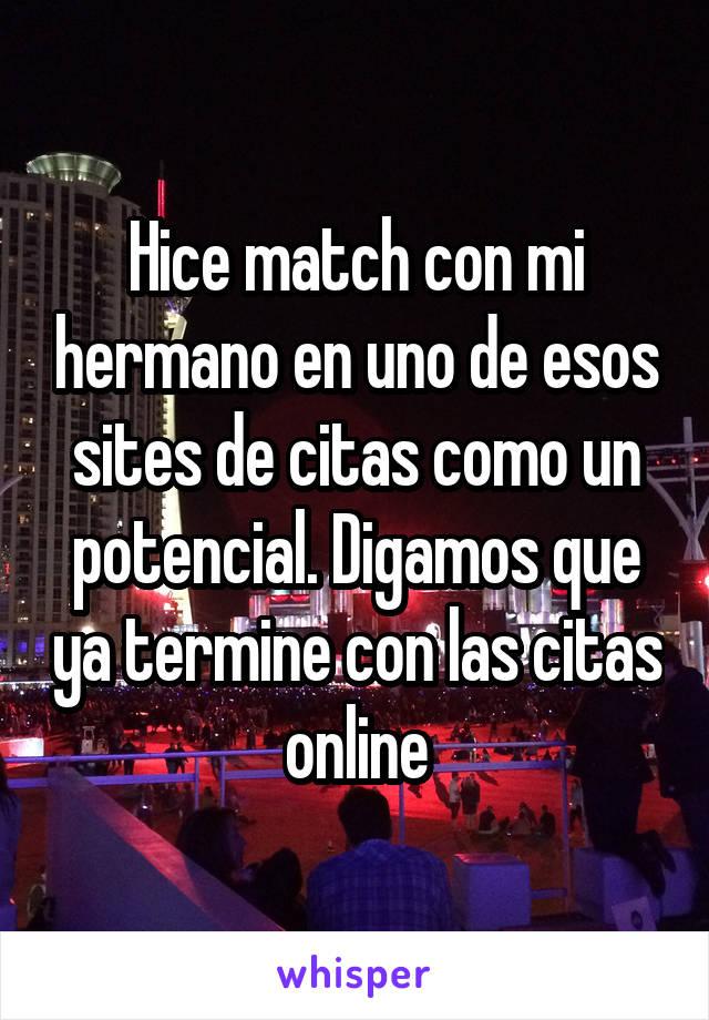 Match citas